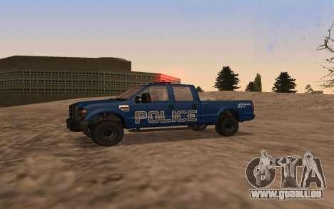 Ford F-250 Incident Response für GTA San Andreas linke Ansicht