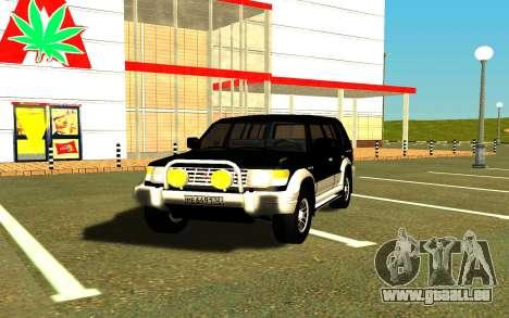Mitsubishi Pajero für GTA San Andreas