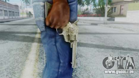 Red Dead Redemption Revolver Sergio pour GTA San Andreas troisième écran