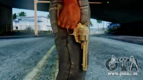 Red Dead Redemption Revolver Diego Assasin für GTA San Andreas dritten Screenshot