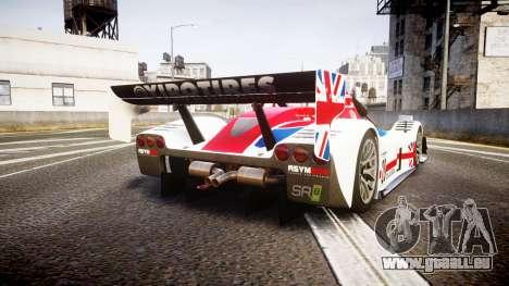 Radical SR8 RX 2011 [28] für GTA 4 hinten links Ansicht