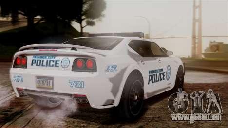 Hunter Citizen from Burnout Paradise v3 für GTA San Andreas linke Ansicht