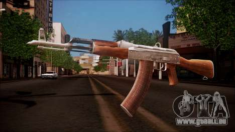 AK-47 v8 from Battlefield Hardline für GTA San Andreas