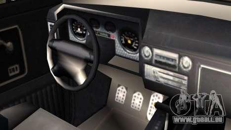 GTA 5 Vapid Slamvan Pickup IVF pour GTA San Andreas vue de droite