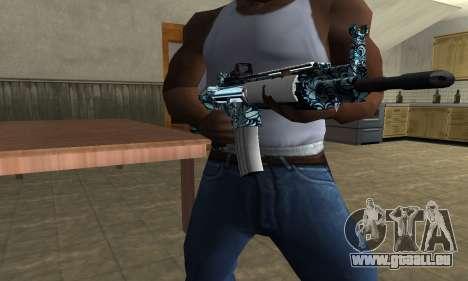 Auto M4 für GTA San Andreas dritten Screenshot
