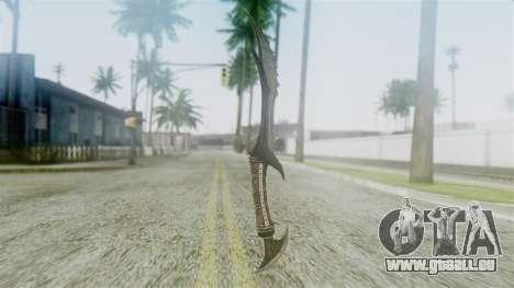 Deadric Dagger pour GTA San Andreas deuxième écran