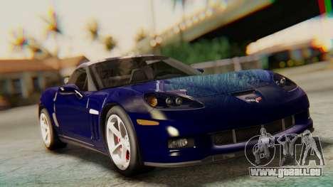 Chevrolet Corvette Sport für GTA San Andreas