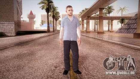 Michael Scofield Gefängnis form für GTA San Andreas zweiten Screenshot