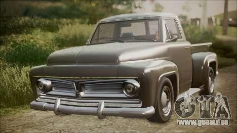 GTA 5 Vapid Slamvan Pickup IVF pour GTA San Andreas