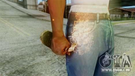 Red Dead Redemption Molotov pour GTA San Andreas deuxième écran