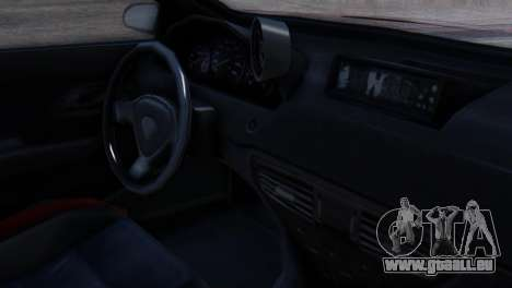 Benefactor Schwartzer Racecar pour GTA San Andreas vue de droite
