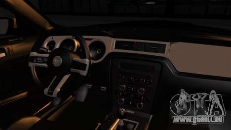 Ford Mustang Boss 302 2013 für GTA San Andreas rechten Ansicht