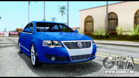 Volkswagen Passat B6 pour GTA San Andreas laissé vue