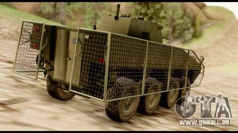 KTO Rosomak M1M pour GTA San Andreas laissé vue