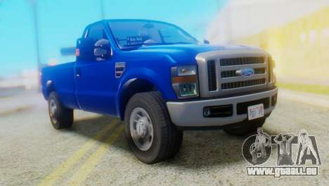 Ford F-350 Super Duty Regular Cab 2008 HQLM pour GTA San Andreas