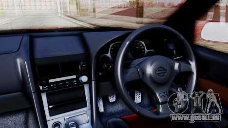 Nissan Skyline ER34 pour GTA San Andreas vue de droite