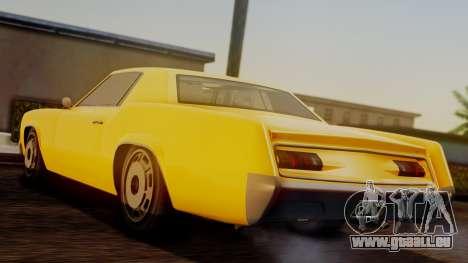GTA 5 Albany Virgo IVF pour GTA San Andreas laissé vue