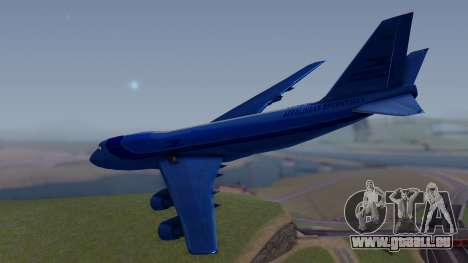 AT-400 Argentina Airlines für GTA San Andreas linke Ansicht