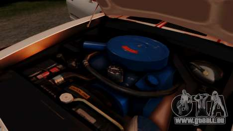 Ford Mustang King Cobra 1978 für GTA San Andreas obere Ansicht