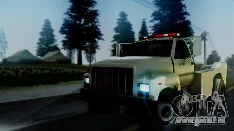 GMC Topkick Towtruck pour GTA San Andreas