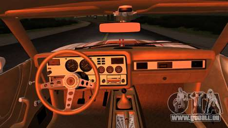 Ford Mustang King Cobra 1978 für GTA San Andreas Innenansicht