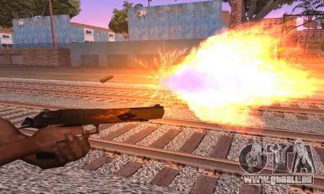 Deagle Flame pour GTA San Andreas deuxième écran