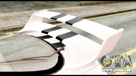 Toyota Supra Full Tuning v2 für GTA San Andreas Rückansicht