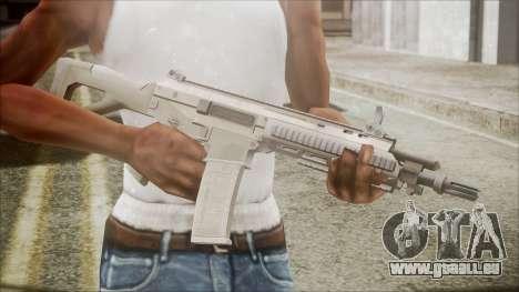 ACR from Battlefield Hardline pour GTA San Andreas troisième écran