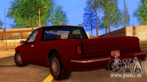Premier Pickup für GTA San Andreas linke Ansicht
