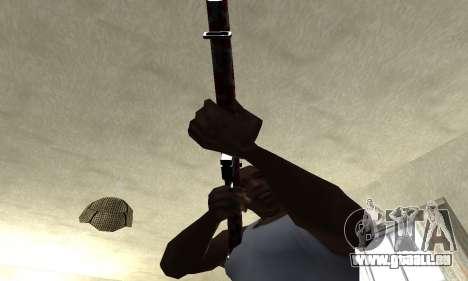 Snake Rifle pour GTA San Andreas deuxième écran