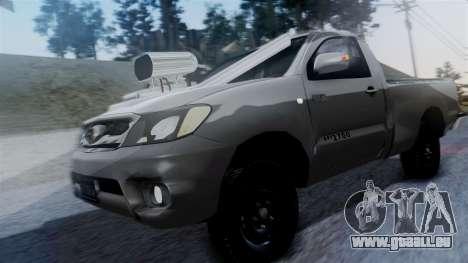 Toyota Hilux 2015 pour GTA San Andreas