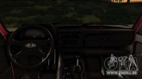 VAZ Niva 2121 Stoke pour GTA San Andreas vue arrière