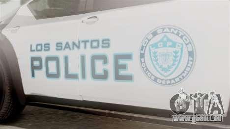 Hunter Citizen from Burnout Paradise Police LS für GTA San Andreas rechten Ansicht
