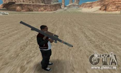 Homing Launcher from GTA 5 pour GTA San Andreas