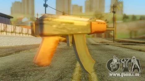 AKS-74U für GTA San Andreas zweiten Screenshot