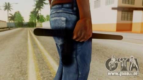 Police Baton from Silent Hill Downpour v1 pour GTA San Andreas troisième écran