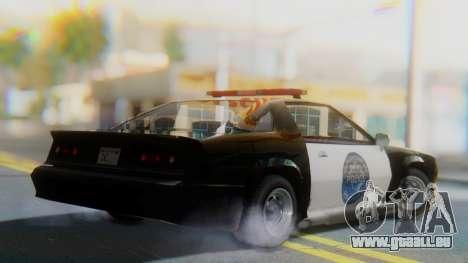 Buffalo Sheriff pour GTA San Andreas laissé vue
