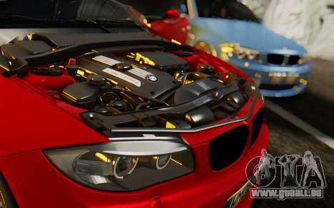 BMW 1M E82 pour GTA San Andreas vue de côté