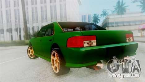 Sultan New Edition für GTA San Andreas linke Ansicht
