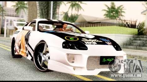 Toyota Supra Full Tuning v2 für GTA San Andreas