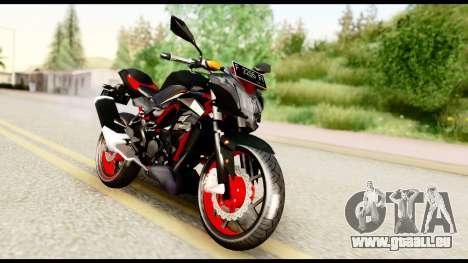Kawasaki Z250SL Red pour GTA San Andreas