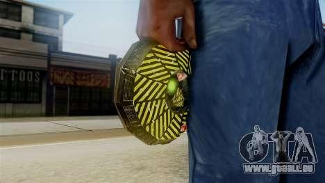 Ghostbuster SMTH pour GTA San Andreas deuxième écran