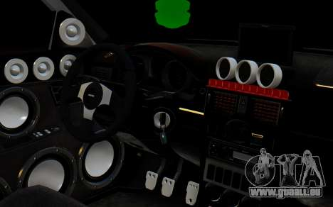 VAZ 2172 pour GTA San Andreas vue de droite