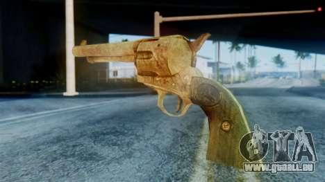 Red Dead Redemption Revolver pour GTA San Andreas deuxième écran