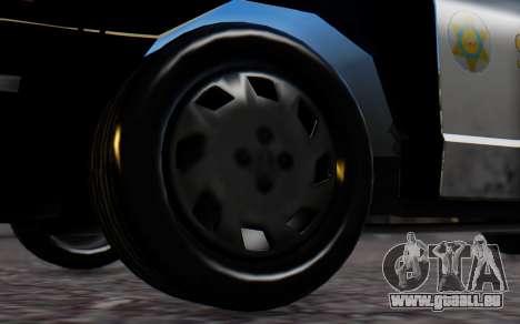 Ford Crown Victoria Sheriff pour GTA San Andreas sur la vue arrière gauche