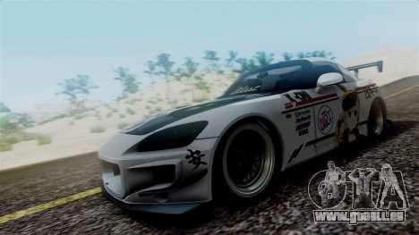 Honda S2000 Tuned Mugi Itasha pour GTA San Andreas laissé vue