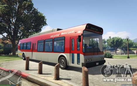 New Bus Textures v2 pour GTA 5