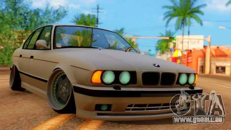 BMW M5 E34 Stance pour GTA San Andreas