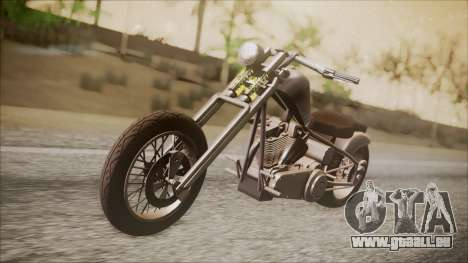 LCC Hexer GTA 5 IVF pour GTA San Andreas