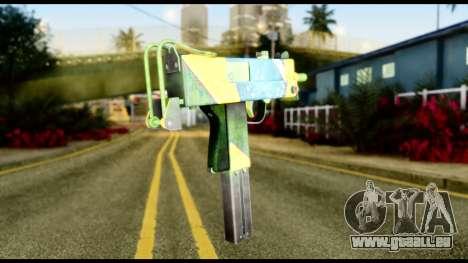 Brasileiro Micro Uzi für GTA San Andreas zweiten Screenshot
